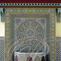 MEKNÈS - PALAIS ROYAL - fontaine murale en zelliges