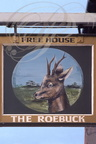 UTTOXETER (GB) - Enseigne : The Roebuck (le chevreuil)