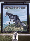 CHESTER (GB) - Enseigne : Black Fox (Renard noir)