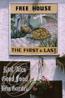 "ENSEIGNE : ""THE FIRST AND THE LAST"" (Le Premier et le dernier)"