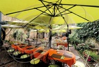CERET Restaurant LE JARDIN table longue